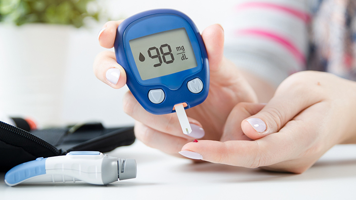 how does a glucometer work