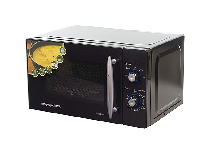 morphy richards 20 l solo microwave oven