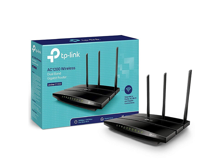 tp-link archer c1200 dual band gigabit wireless cable router