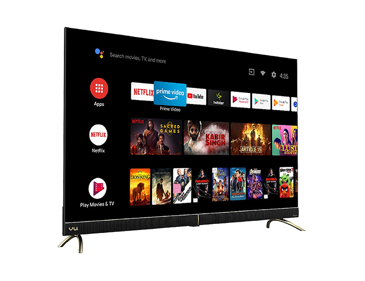 vu 43 inch 4k android tv