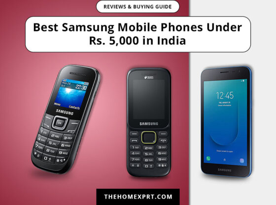 Best Samsung Mobile Phones Under Rs. 5,000 in India