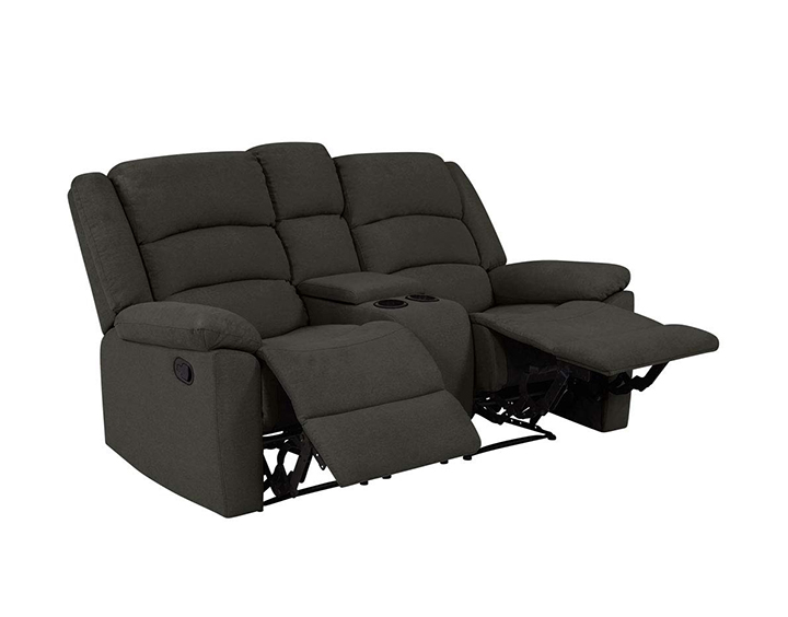 furny carson 2 seater recliner chair