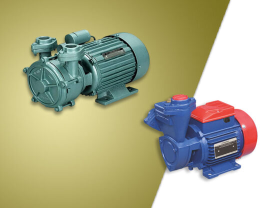 best water motor/pump for domestic use in india