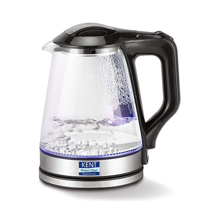 kent glass electric kettle