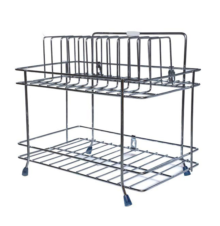 new creation stainless steel wall mount dish rack