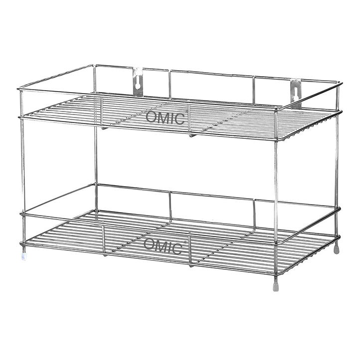 omic stainless steel kitchen wall mounted dish rack
