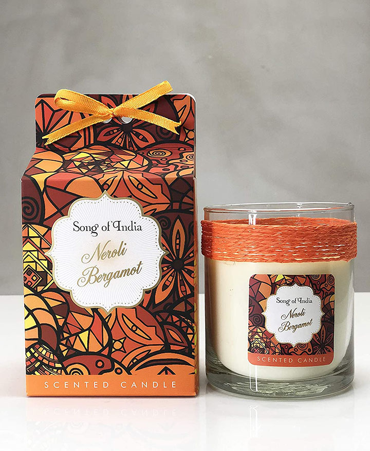 song of india scented candles