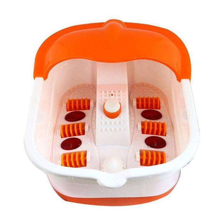 widecare foot spa footbath and roller massager
