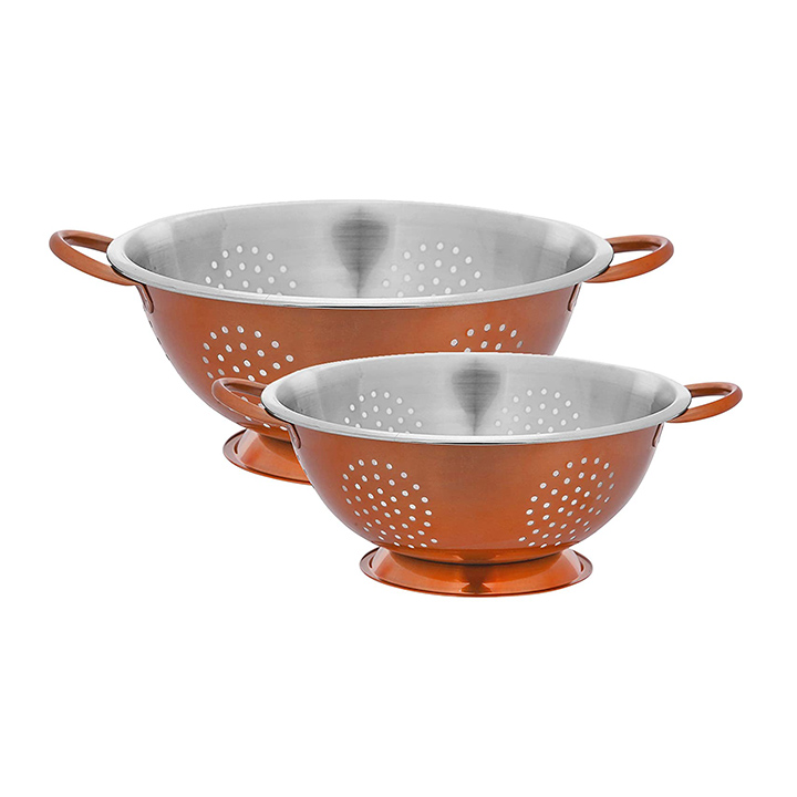 axiom stainless steel colander and strainer