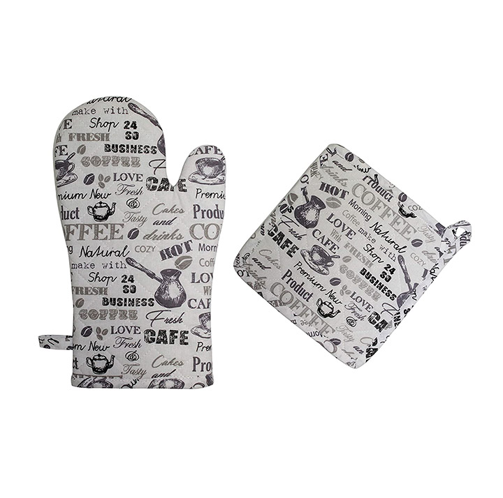 oasis home collections oven gloves and pot holder set
