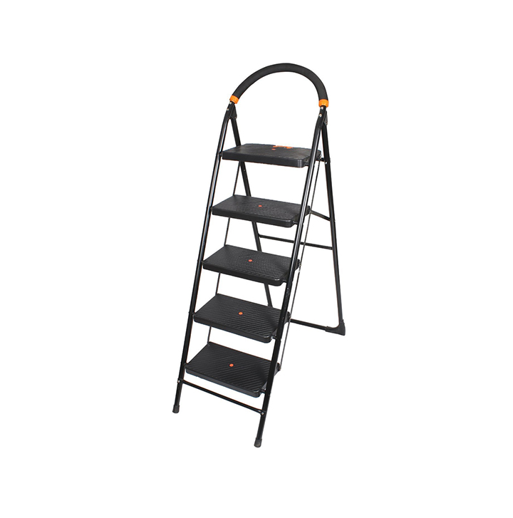 paffy premium heavy folding ladder with wide steps