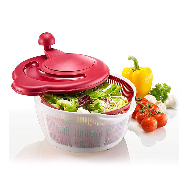 westmark germany vegetable and salad spinner with pouring spout