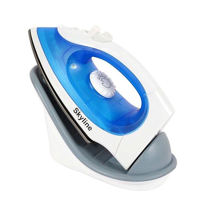 SKY LINE Cordless Non-Stick Soleplate Steam and Spray Iron
