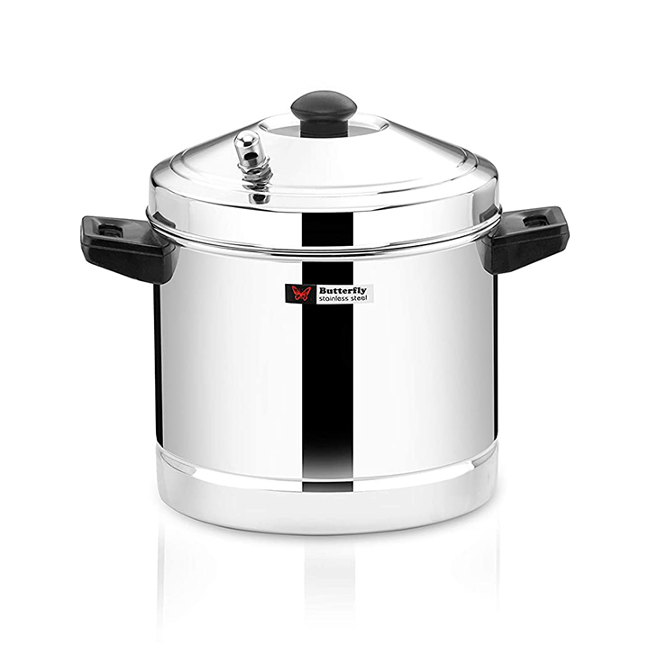 butterfly stainless steel idli cooker