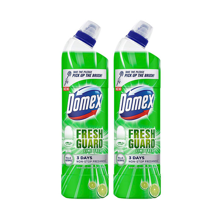 domex lime fresh toilet cleaner