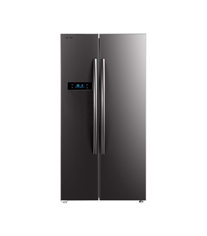 toshiba 587 l inverter frost-free side by side refrigerator