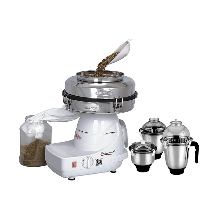 cookwell instagrind mixer grinder & flour mill