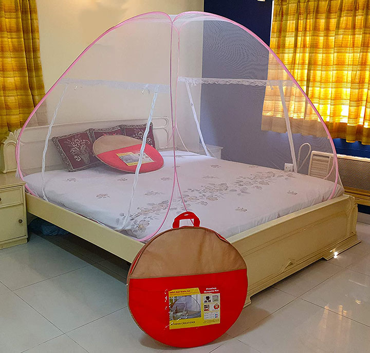 athena creations double bed foldable mosquito net