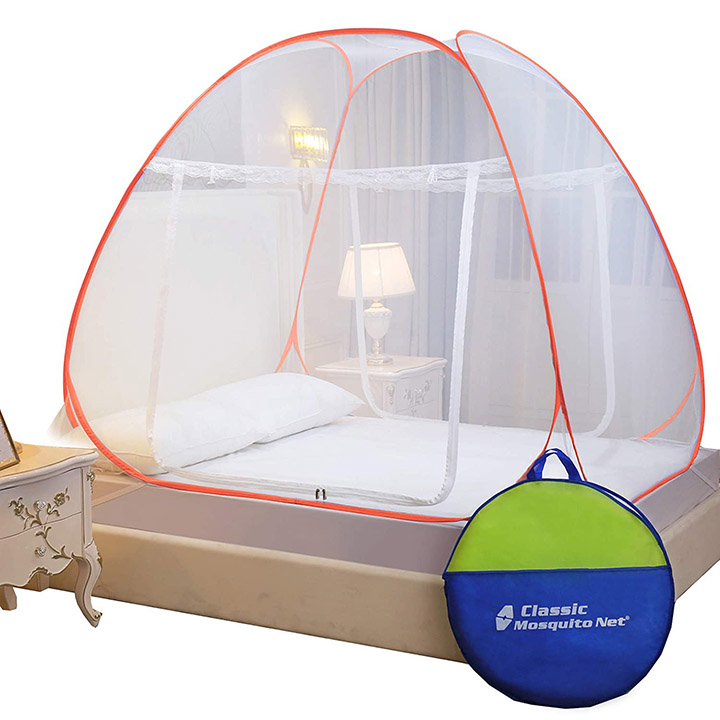 classic mosquito net foldable king size double bed