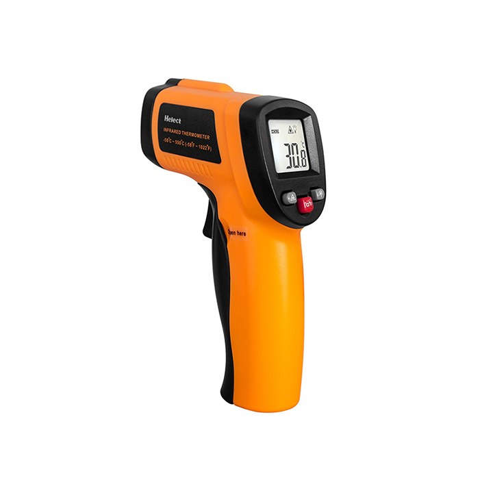 helect non-contact digital laser infrared thermometer