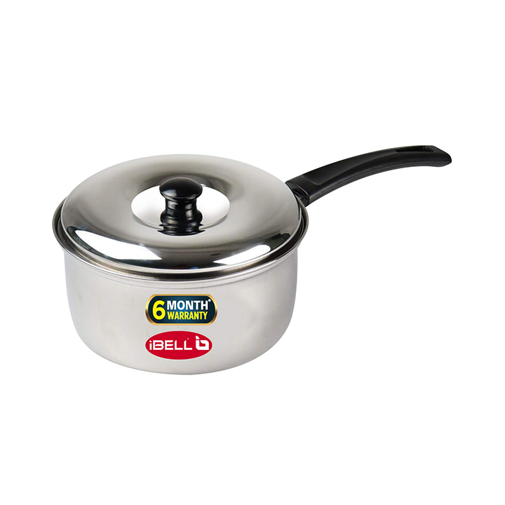 ibell 2 litre stainless steel saucepan with lid