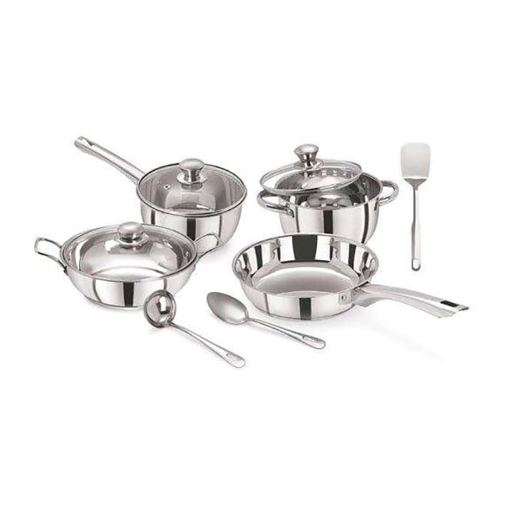 pristine stainless steel cookware set