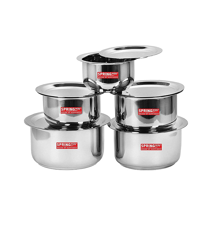 springway - brand of happiness® stainless steel cookware set