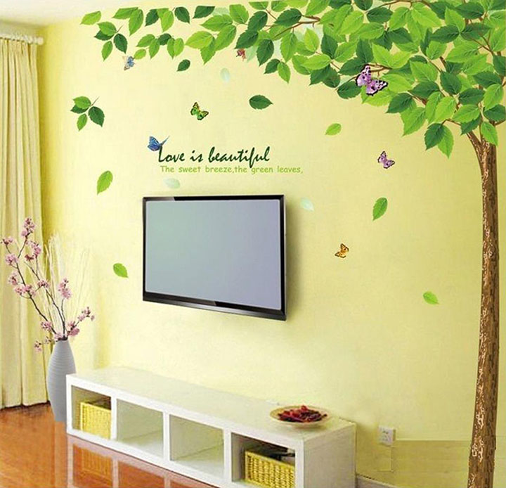 Decals Design 'Bestselling Leaves Tree' Wall Sticker