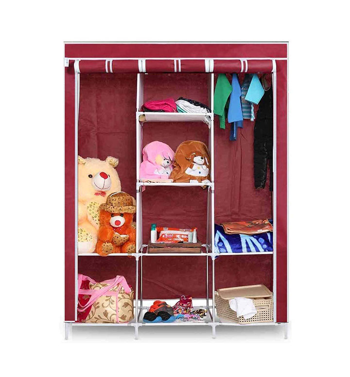 GTC Fabric 6+2 Layer Portable Collapsible Closet
