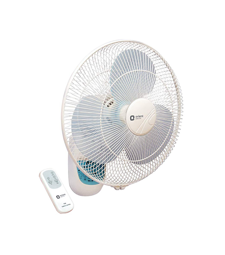 orient electric wall-49 400mm wall fan with remote