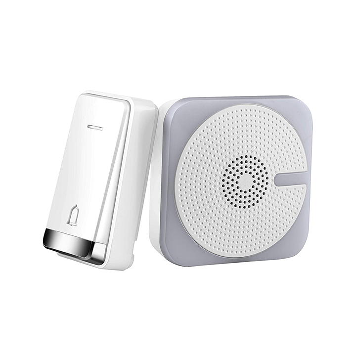 orient electric wireless mobile door bell with kinetic bell push