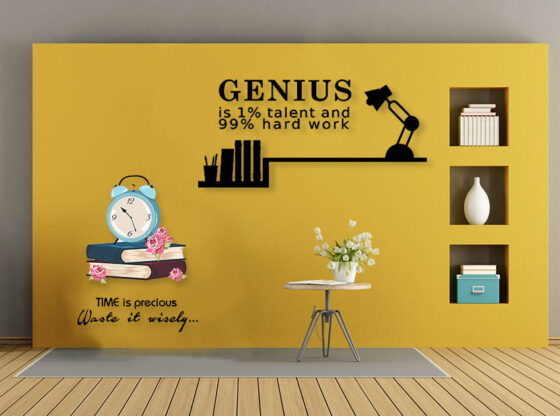 study room wall stickers