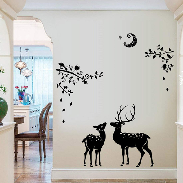 creative peace of mind wall stickers