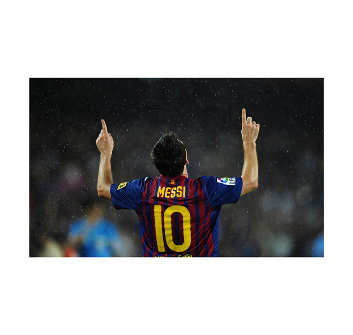 football player messi wall poster & wall sticker