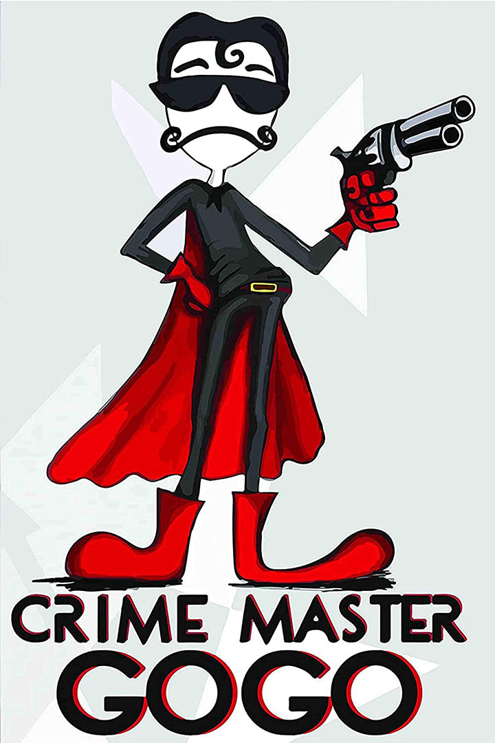 funny wall sticker poster crime master go go poster