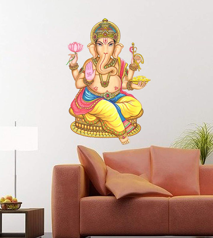 lord ganesh wall sticker and decals