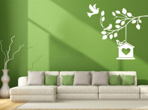 wall stickers for green wall