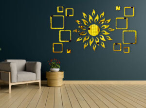 3D Wall stickers for Hall