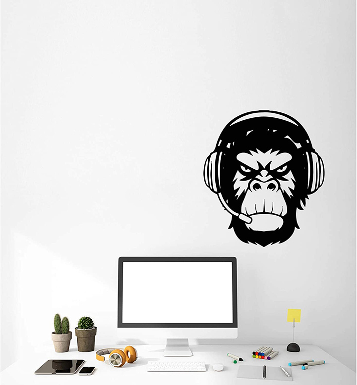 Angry Monkey Wall Stickers