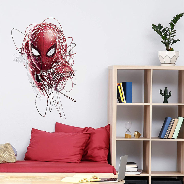 Asian Paints Wall Ons, Spiderman - Web Slinger' Original Licensed Decal