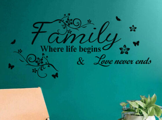 Decorative Wall Stickers for Living Rooms