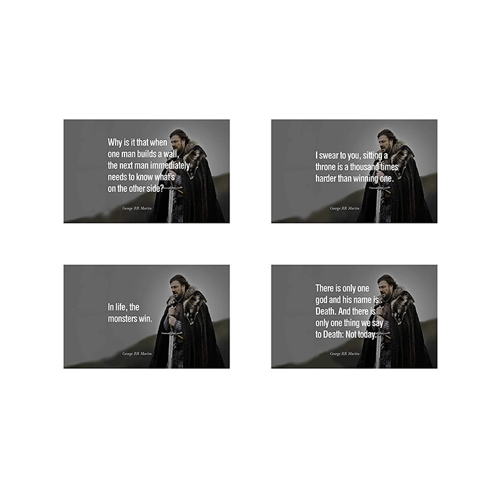 game of thrones combo wall stickers