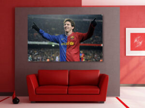 messi wall stickers