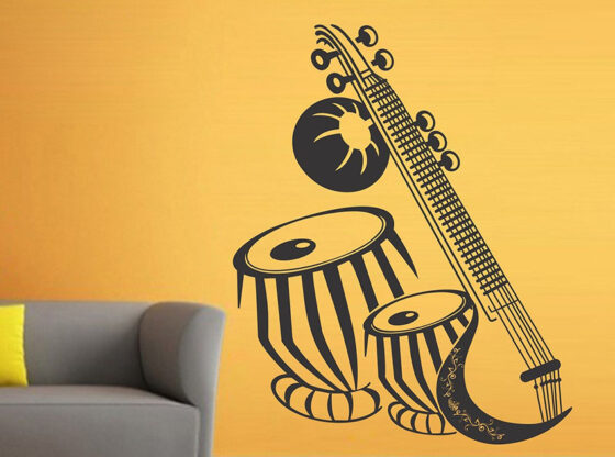 music wall stickers