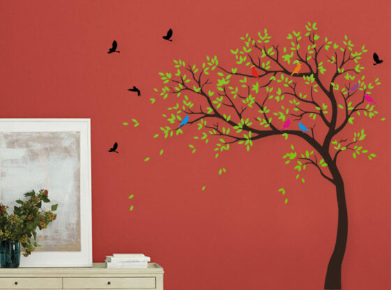 nature wall stickers