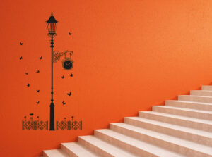 stairs wall stickers