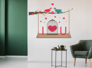 bed room wall stickers for adults