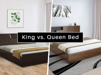 king vs queen bed size difference